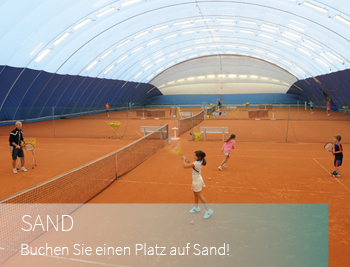 sand tennis winter